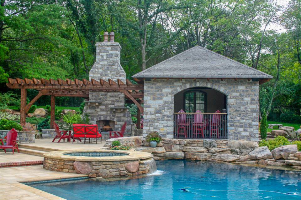 Luxury Living with In-ground pools and spas in Nashville, Franklin, Clarksville TN