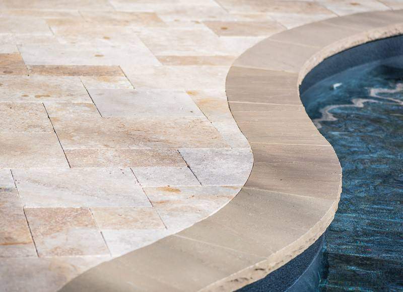 Deck and stone pavers for In-ground pools and spas in Nashville, Franklin, Clarksville TN