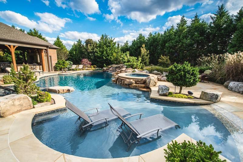 Luxury In-ground pools and spas in Nashville, Franklin, Clarksville TN