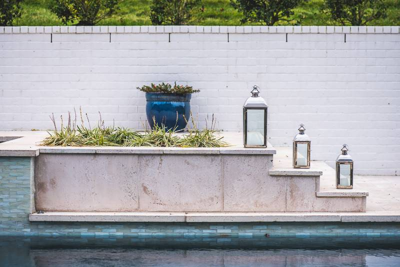 Luxury steps and decking for around In-ground pools and spas in Nashville, Franklin, Clarksville TN